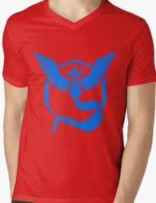 Pokemon GO - Team Mystic (Blue) Mens V-Neck T-Shirt