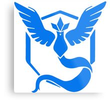 Pokemon GO - Team Mystic (Blue) Metal Print