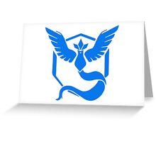 Pokemon GO - Team Mystic (Blue) Greeting Card