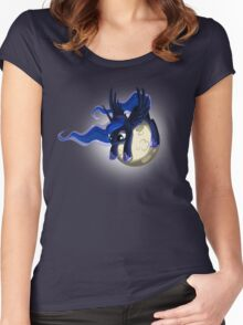 Luna's Moon Women's Fitted Scoop T-Shirt