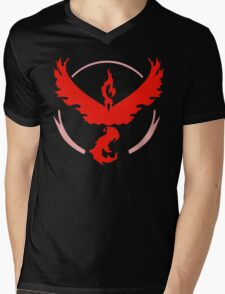 Pokemon Go Valor Shirt Mens V-Neck T-Shirt