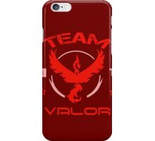 team valor iPhone Case/Skin