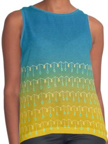 Droplets, Blue and Yellow Contrast Tank
