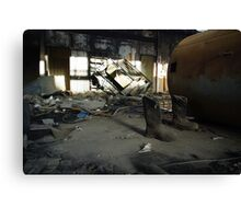 Gutted Canvas Print