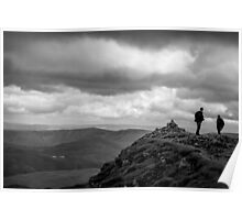 Helvellyn Summit Poster