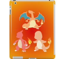 Kanto Starters - The Charmander Evolutions iPad Case/Skin