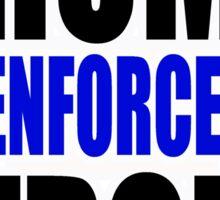 Trump law enforcement strong  Sticker