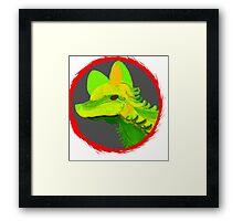 Fernhound Framed Print