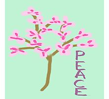 Peace Blossoms Photographic Print