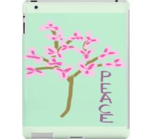 Peace Blossoms iPad Case/Skin