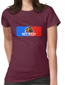 Key West Fl. Womens Fitted T-Shirt