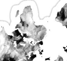 Challenge Your Thinking World Map Sticker