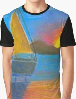 sailing boat Graphic T-Shirt