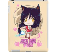 LET'S HAVE SOME REAL FUN <3 iPad Case/Skin