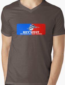 Key West Sport Fishing Mens V-Neck T-Shirt