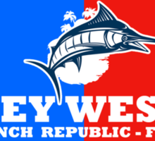 Key West Sport Fishing Sticker