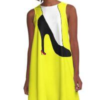 High heel in high heel A-Line Dress