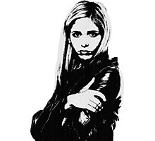 Buffy the Vampire Slayer - Buffy Summers Photographic Print