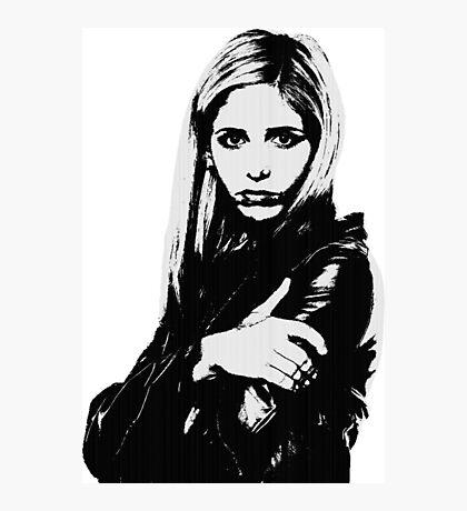 Buffy the Vampire Slayer - Buffy Summers Photographic Print