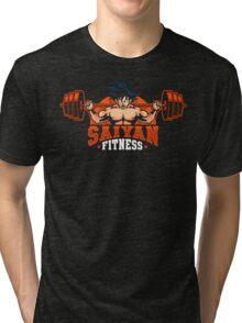 Saiyan Fitness Tri-blend T-Shirt