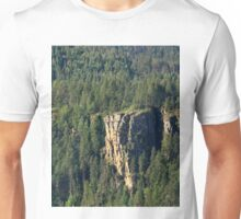 Rocky Outcrop in Cabinet Gorge Unisex T-Shirt