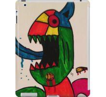 Blue Tongue Gobble iPad Case/Skin