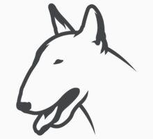 Bull Terrier HEAD Bullterrier by bullylove
