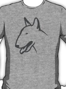 Bull Terrier HEAD Bullterrier T-Shirt