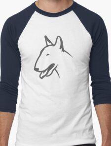 Bull Terrier HEAD Bullterrier Men's Baseball ¾ T-Shirt