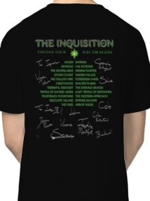 Inquisition Concert Tour Classic T-Shirt