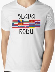 Slavic Glory and Unity Mens V-Neck T-Shirt