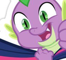 Spike, stay hookes ! Sticker