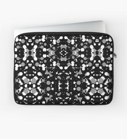 Marble Tears, Black Laptop Sleeve