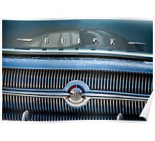1957 Buick Grill Detail Poster