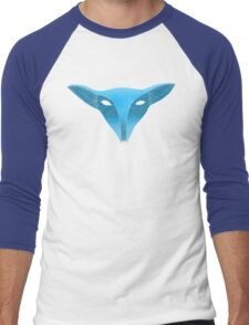 Blue fox mask with moons T-Shirt