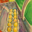 Retro Eggs by christine purtle