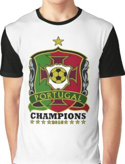 Portugal Champions Europe Graphic T-Shirt