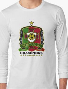 Portugal Champions Europe Long Sleeve T-Shirt
