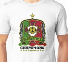 Portugal Champions Europe Unisex T-Shirt