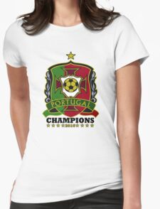 Portugal Champions Europe Womens Fitted T-Shirt