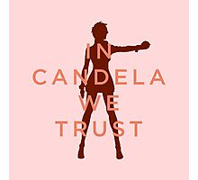 In Candela We Trust - Light Apparel Photographic Print