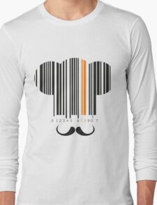 Elegant Chef hat and mustache  Long Sleeve T-Shirt