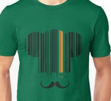 Elegant Chef hat and mustache  Unisex T-Shirt
