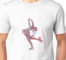 Ice Skater Nebula Unisex T-Shirt