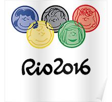 Olympic - Charlie Brown Poster