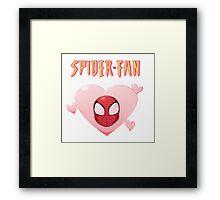 Spider-Fan Framed Print
