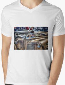 Sliver Hotrod Mens V-Neck T-Shirt