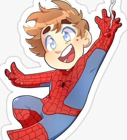 Little Hero- Peter Sticker