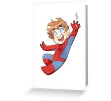 Little Hero- Peter Greeting Card