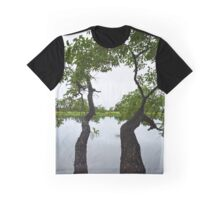 Morning Whisper Between Two Trees - Telepathy | Kings Park, New York Graphic T-Shirt